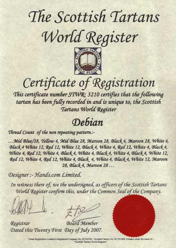 Debconf7tartan Wiki