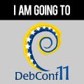 I am going to DebConf11.