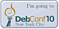 Im going to DebConf10