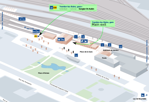 how to get from zurich airport to train station