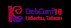 https://wiki.debconf.org/upload/thumb/6/60/DebConf18_Horizontal_Logo.png/250px-DebConf18_Horizontal_Logo.png